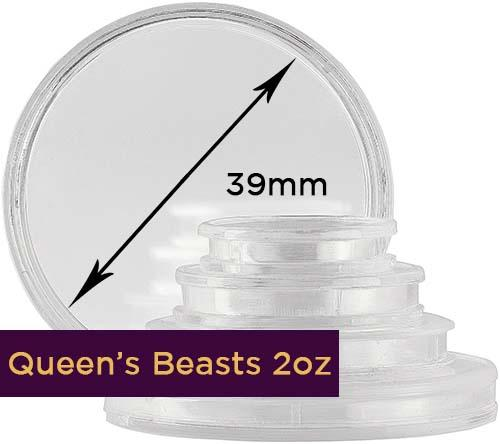 Storage & Accessories Coin Capsule High Relief 39mm 21418