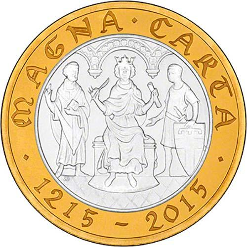2015 UK Coin £2 Silver Proof Magna Carta 22673