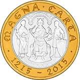 2015 UK Coin £2 Silver Proof Magna Carta 22673