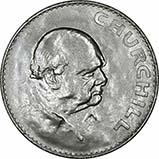 1965 Winston Churchill Ordinary Circulation Crown 22763