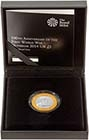 2014 UK Coin £2 Silver Proof Outbreak of WWI 24906