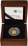 2012 Gold Quarter Sovereign Elizabeth II Proof Presentation Box