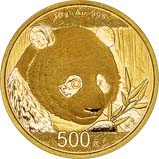 2018 30g Gold Coin Panda Bullion 21196