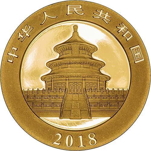 2018 15g Gold Coin Panda Bullion 24650