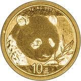 2018 1g Gold Coin Panda Bullion 21381