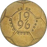 1996 UK Coin £2 Ordinary Circulation Celebration of Football 24213