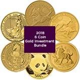 2018 Gold Coin Bundle - 6 Coins 22290