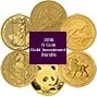 2018 Gold Coin Bundle - 6 Coins 22290