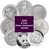 2018 Silver Coin Bundle - 8 Coins 22352