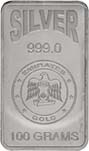 100g Silver Bar Our Choice Pre-Owned 24318