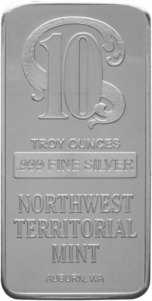 10 Oz Silver Bar Investment Bullion Chard 279 30