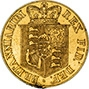 1817 Gold Half Sovereign George III London aVF gFine Edge Damage 22627