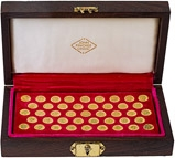 Gold Medallion Set Kings and Queens of England 20470