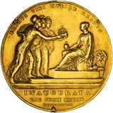 1838 Gold Medallion Individual Victoria Coronation 22824