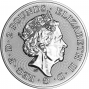1 oz Silver Coin CGT Exempt Newly Minted Obverse