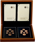 2008 Emblems of Britain and Royal Shield of Arms Gold Proof Dual Collection 23796