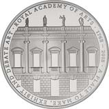 2018 UK Coin £5 / Crown Silver Proof Royal Academy of Arts 24502