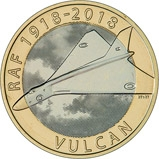 2018 UK Coin £2 BU RAF Centenary Vulcan 24848