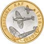 2018 UK Coin £2 Silver Proof RAF Centenary Spitfire 24554