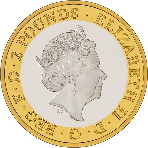 2018 UK Coin £2 Silver Proof RAF Centenary Vulcan 22337