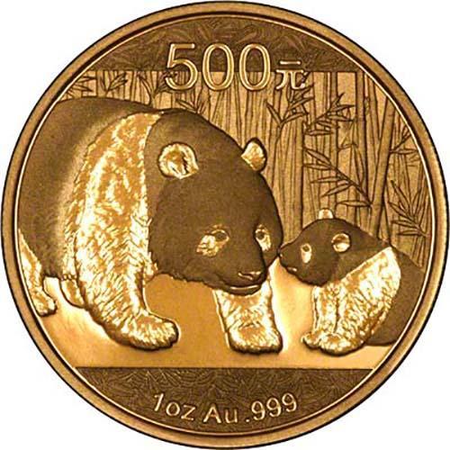 2011 1 oz Gold Coin Panda Bullion 23987