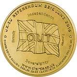 2016 UK Coin EU Medallion Brass 21555