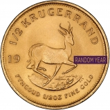 0.5 oz Gold Coin Krugerrand Bullion Secondary Market 25593