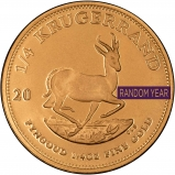 0.25 oz Gold Coin Krugerrand Bullion Secondary Market 25594