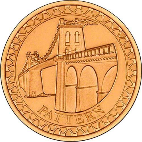 2003 Bridges £1 Gold Proof Pattern Collection 23706