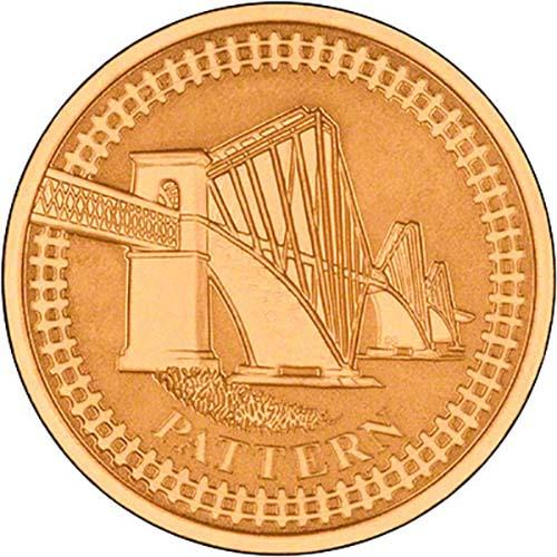 2003 Bridges £1 Gold Proof Pattern Collection 23709