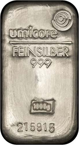 1 Kg Silver Bar Our Choice Pre-Owned 22462