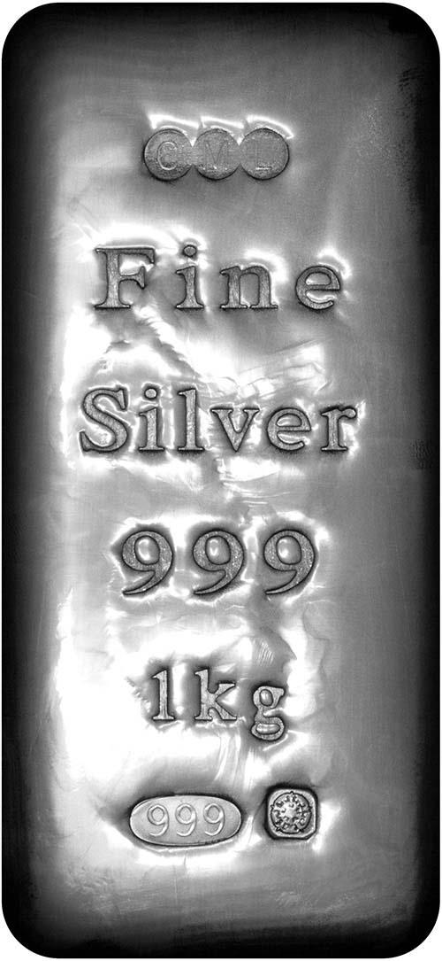 1 Kg Silver Bar Our Choice Pre-Owned 22460