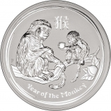 2016 1 Kg Silver Coin Lunar Year of the Monkey Perth Mint Bullion 25620
