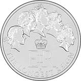 2015 UK Coin £20 BU Longest Reigning Monarch 21233