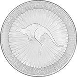 2016 1 oz Silver Coin Kangaroo Perth Bullion 23572