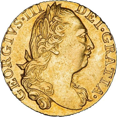 1775 UK Coin Guinea VF George III Gold 20820