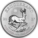 2017 1 oz Silver Coin Krugerrand Premium UNC 20916
