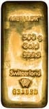 500g Gold Bar Metalor New 21803