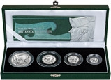 2003 Whole Coin Set Britannia Silver Proof - 4 Coins 23479