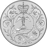 1977 UK Coin Crown Silver Proof Silver Jubilee 22693