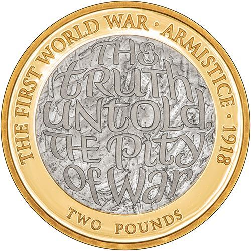 2018 UK Coin £2 Silver Proof - First World War Armistice 24299