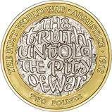 2018 UK Coin £2 BU - First World War Armistice 24583