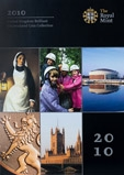 2010 United Kingdom Brilliant Uncirculated Coin Collection 21091