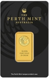 20g Gold Bar Perth Mint Kangaroo 22613