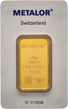 20g Gold Bar Metalor New 20468