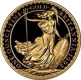 1992 1 oz Gold Coin Britannia Bullion 21955
