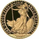 2002 1 oz Gold Coin Britannia Bullion 23351