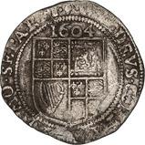 1604 UK Coin James I Sixpence 22815