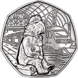 2018 UK Coin 50p BU Paddington Bear - Paddington Station 21832