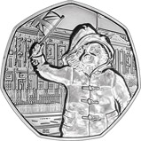 2018 UK Coin 50p BU Paddington Bear - Buckingham Palace 24746